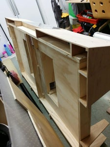 The Cabinet Build.