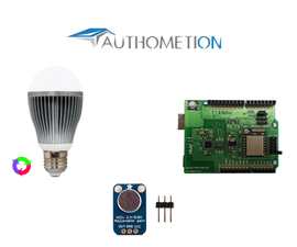 Use a LYT/WiFi shield to sync LYT radio bulb with music