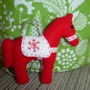 Dala Horse Tree Decoration