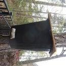 Simple Honeybee Swarm Trap