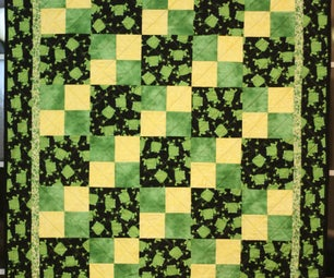 Finishing a Quilt With Backwards Binding