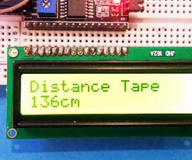 Ultrasonic Distance Measurement Tape
