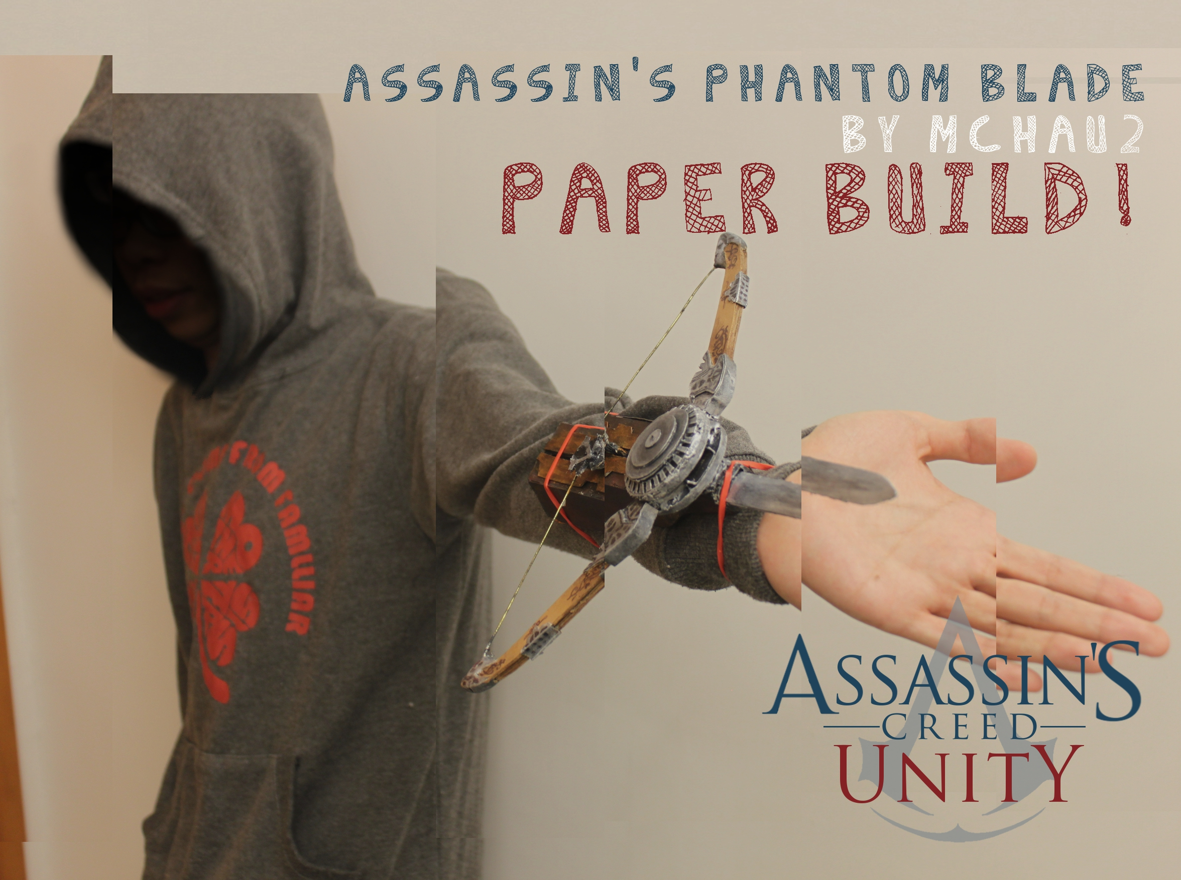 Picture of ACUnity Phantom Blade the Paper Built