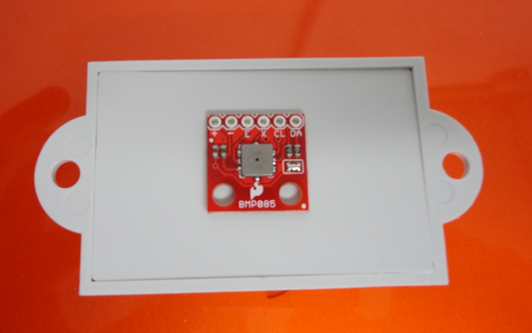Picture of Assembly of Sensor Box