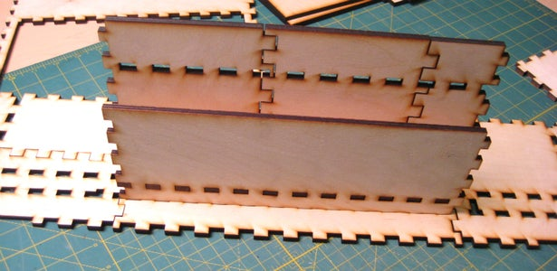Dry Fittings and Gluing the Pieces Together