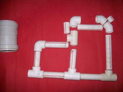 PVC Parts Needed