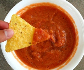 Traditional Hot Salsa