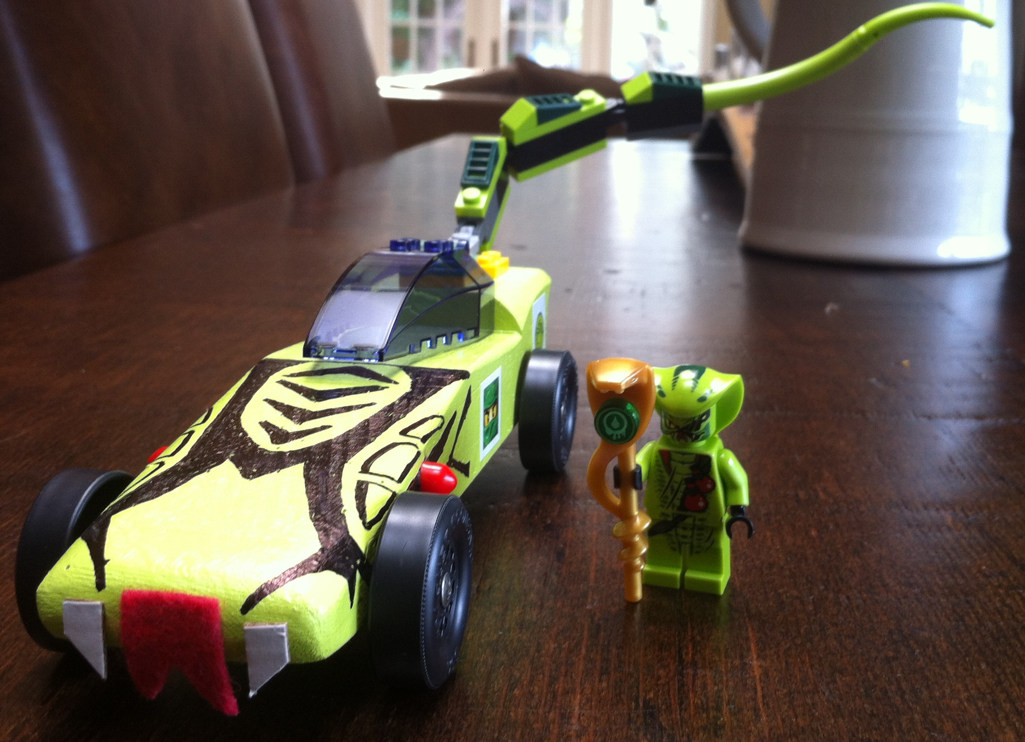 Pinewood Derby Car Inspired By Lego Ninjago 5 Steps With Pictures Instructables