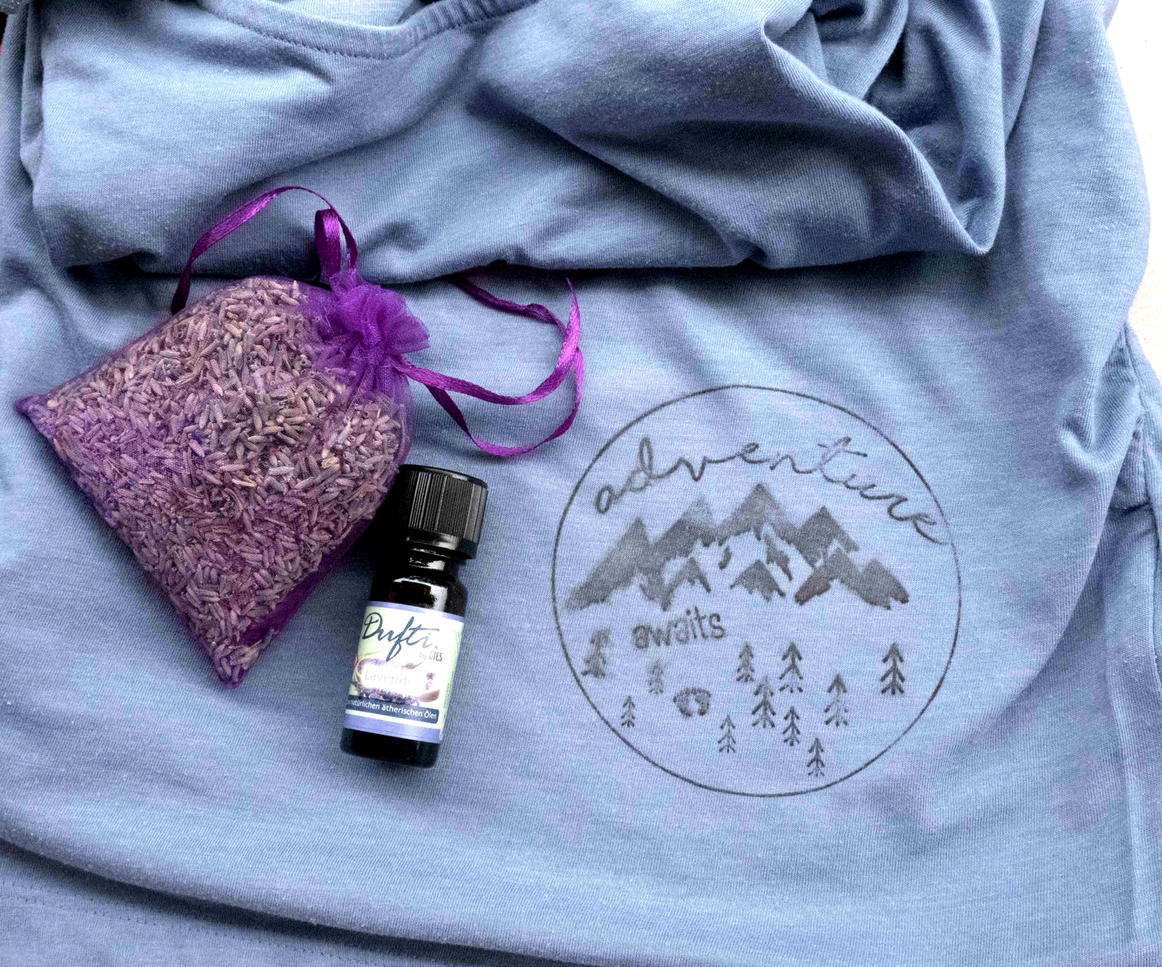 Picture of Lavender Oil Printed Shirt
