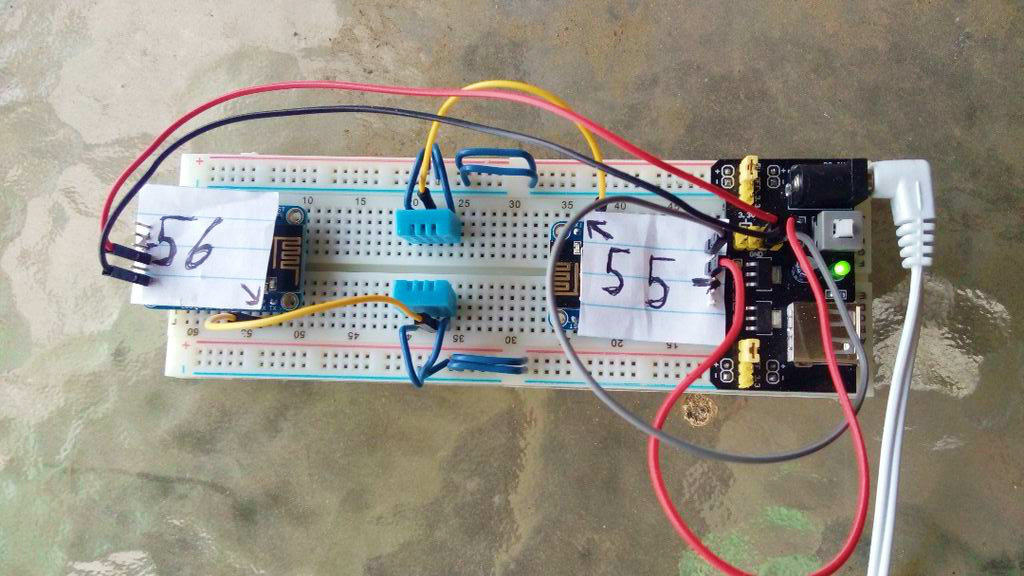 Picture of Huzzah ESP8266 Temp & Humidity Station