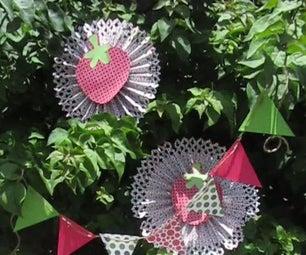 Strawberry Rosette Bunting/Garland