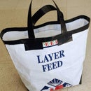 Reduce, Re-use, Recycle: Up-cycled Tote Bag