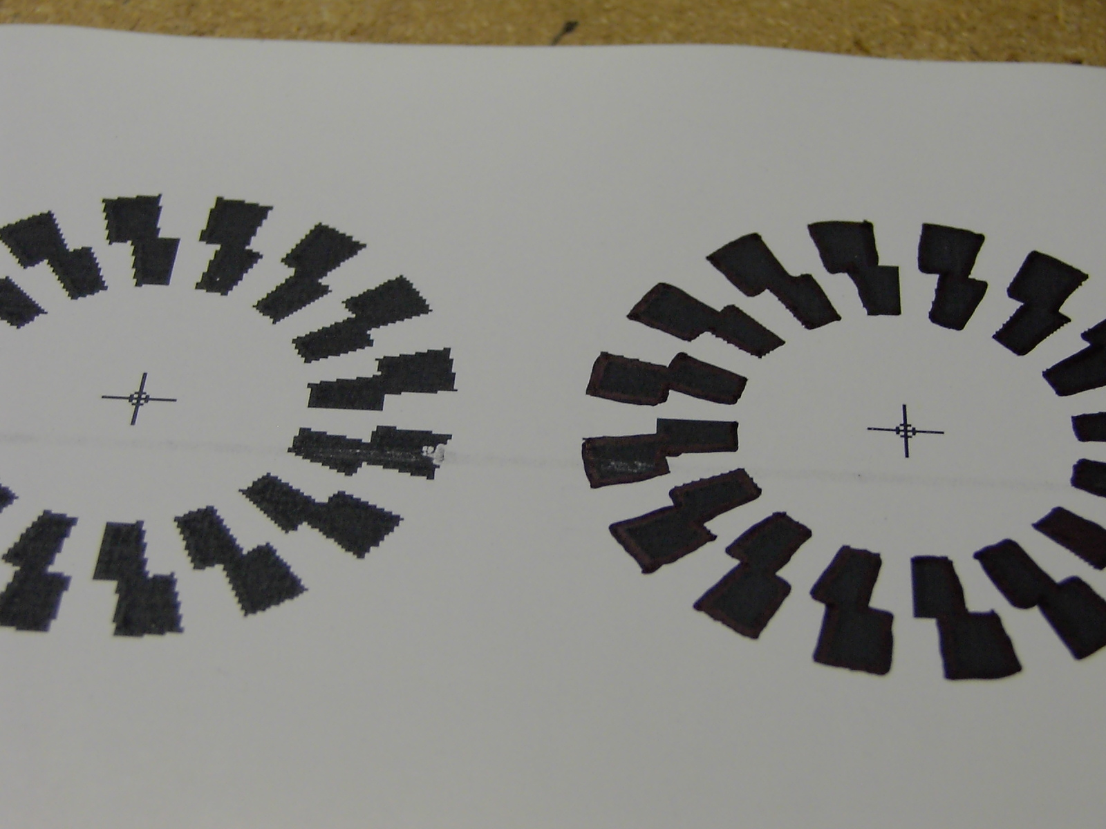 Picture of Making the Encoder Wheel