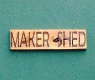 Protect Your Maker Assets! Laser Cut Sign