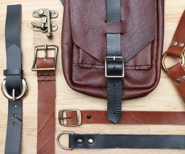 Leather Hardware: Buckles and Clasps