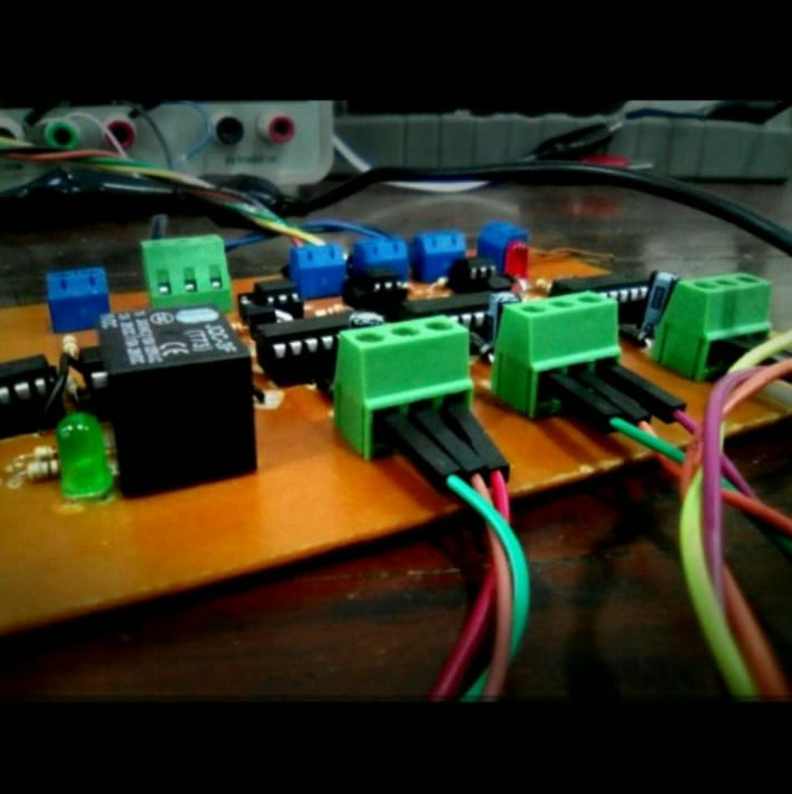 Picture of Gate Driver Circuit for Three Phase Inverter