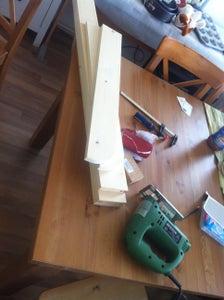 The Build - Step 1: SketchUp Design, Sawing, Sanding