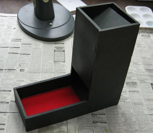 Picture of Making a Formboard Dice Tower