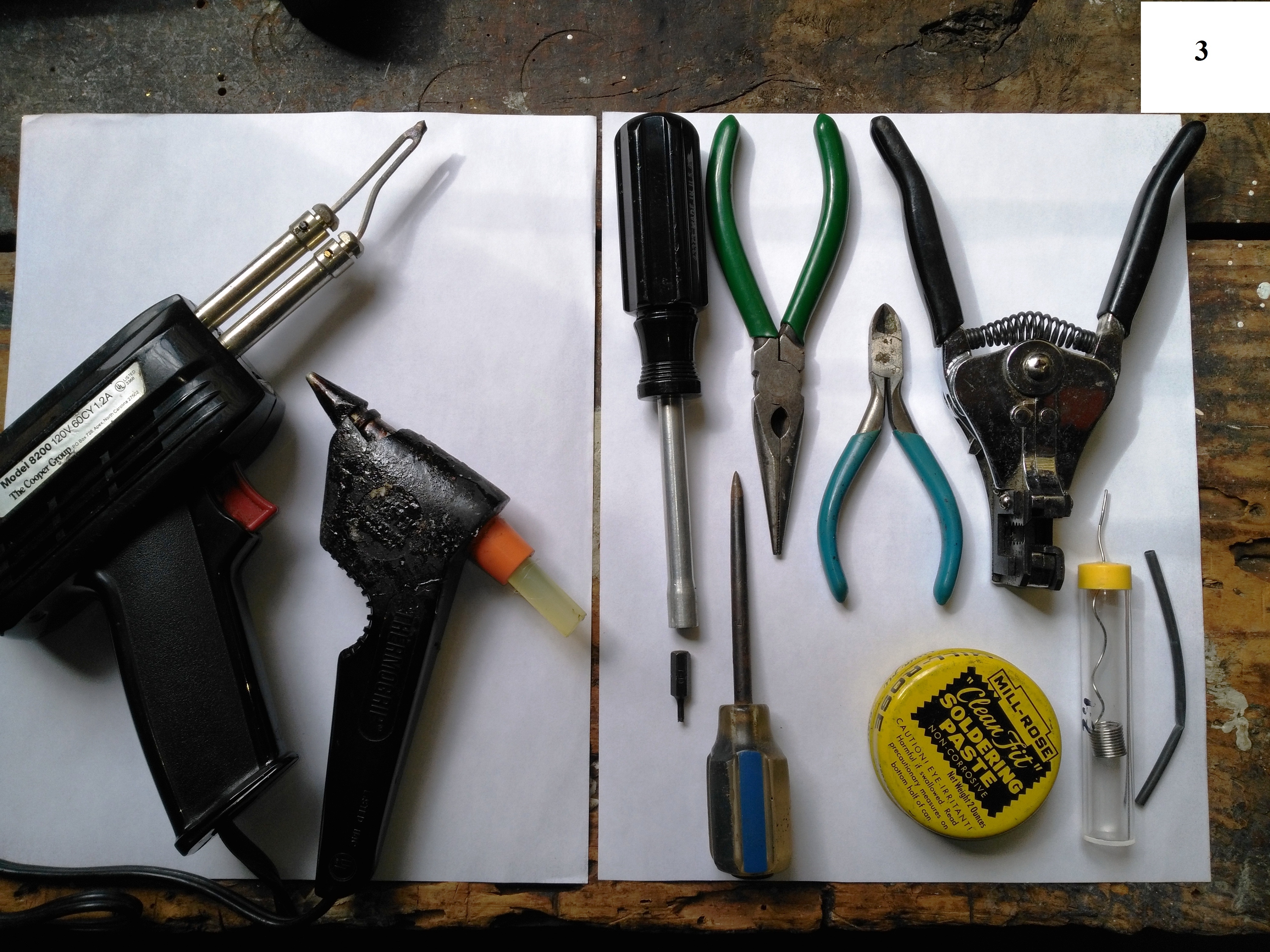 Picture of Needed Tools and Accessories