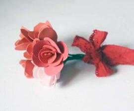 DIY Foam Sheet Flowers
