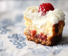 Raspberry Cheesecake Cupcakes