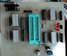 Making of PIC18F452 Micro-Controller Development/Generic Board