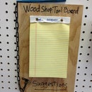 How To Make A Suggestion Board For Tooling