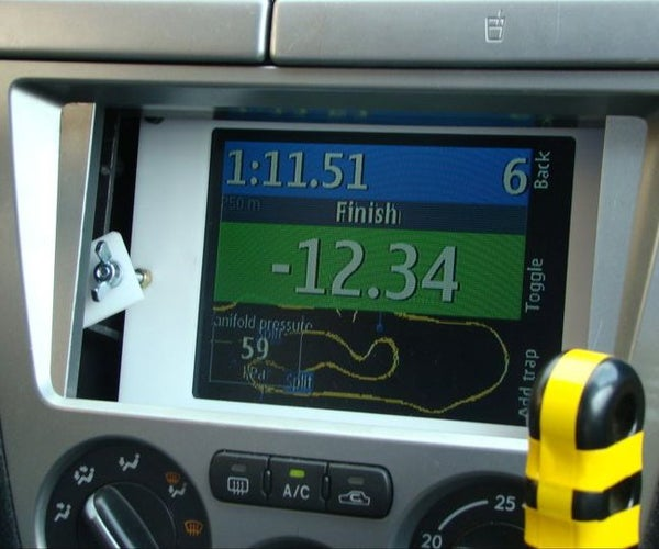 Cheap Lap Timer, Navigation and In-car Entertainment Center