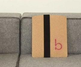 Minimalist Cork iPad Sleeve