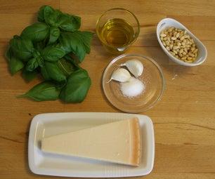 Homemade Green Pesto