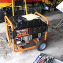 Make a rain proof portable generator housing