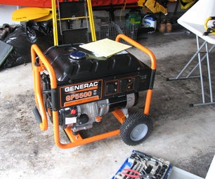 Make a Rain Proof Portable Generator Housing