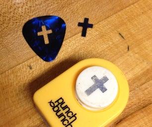 Guitar Pick / Anti-slip / Hole-puch-inator