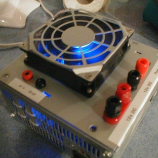 Computer ATX Power Supply to Bench Power Supply