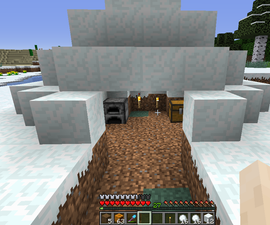Build an Igloo From Scratch in Minecraft