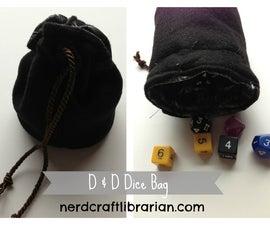 D & D Dice Bag