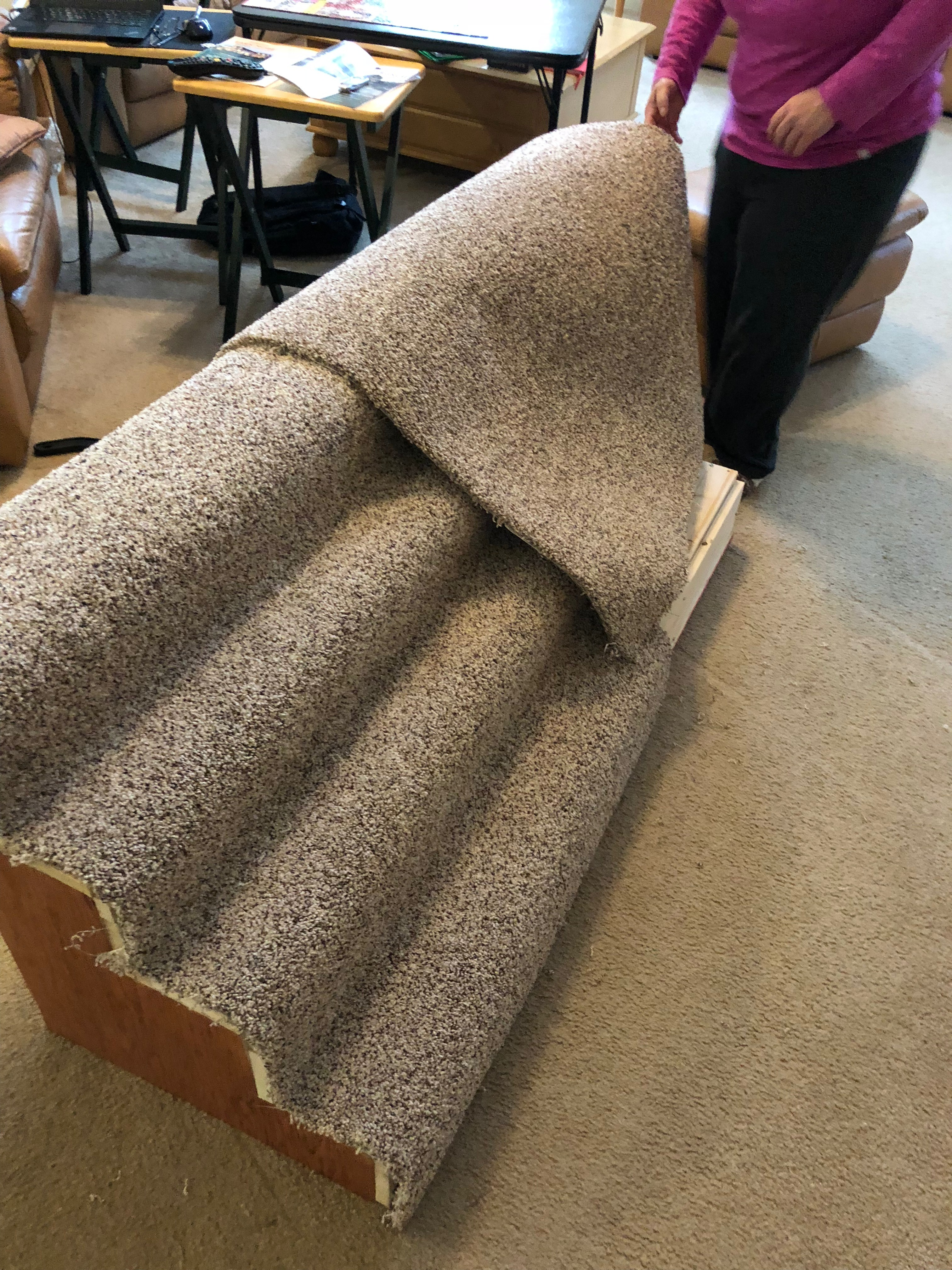 Picture of Add Second Roll of Carpet