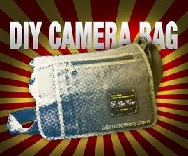 DIY Waxed Canvas Camera Bag