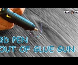 Homemade 3d pen