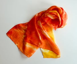 This Orange Is to Dye For!  Adventures in Fabric Dyeing and Painting