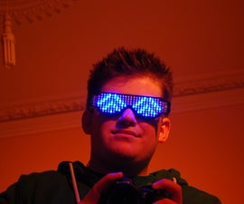 Rave Shades: The Self Assembly LED Glasses Kit.