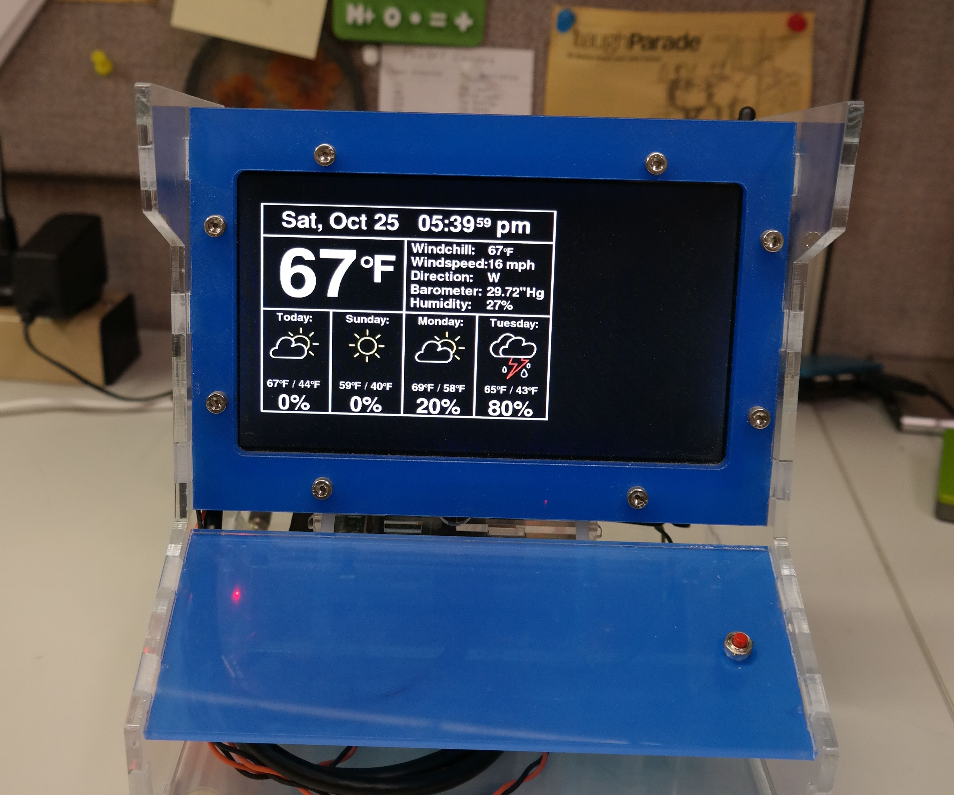 Raspberry Pi Internet Weather Station: 5 Steps (with Pictures)