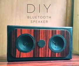 A Beautiful DIY Bluetooth Speaker Build
