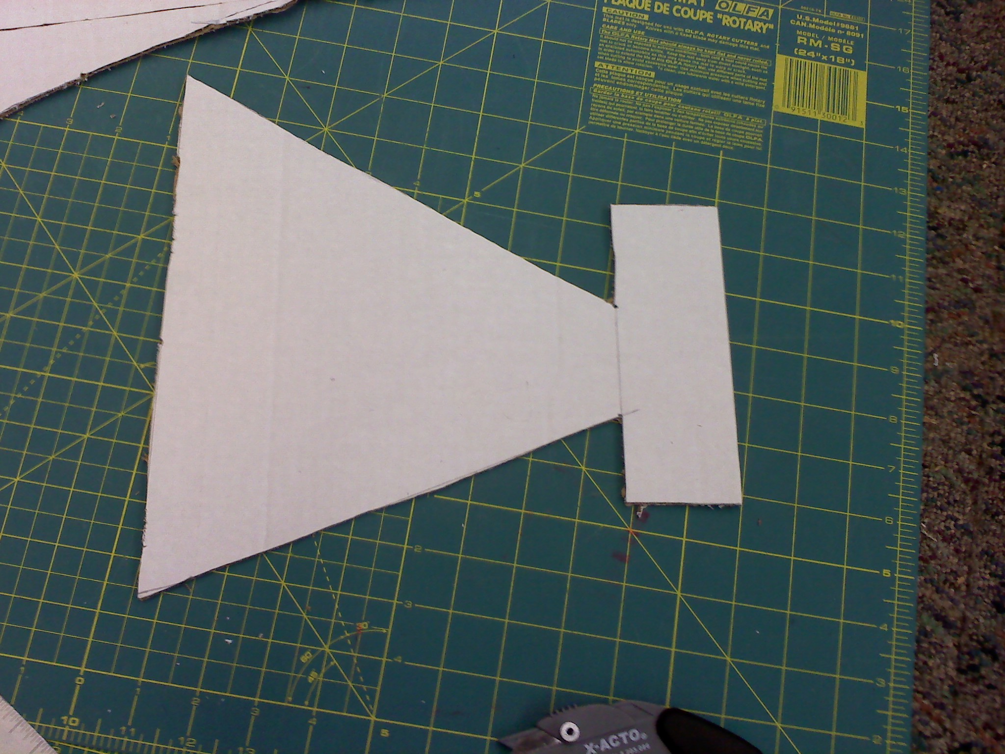 Picture of How to Make Each Part: Dory's Tail Fin