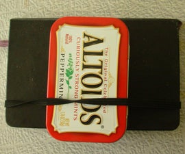 Altoids Tin Watercolor kit