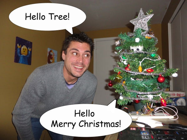 Animatronic Talking Tree - Part 2 - Speech Recognition