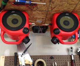 Gas Can Speakers