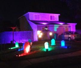 Halloween Light Show