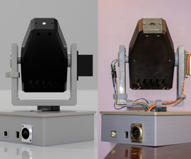 Mover3D: the 3D Printed, DMX Controlled, Desktop Moving Light