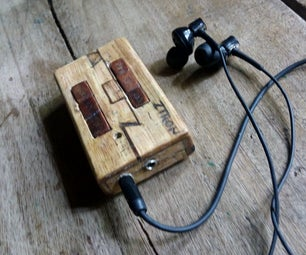 Wooden Bluetooth Headset With Media/play Back Keys